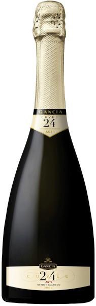 """Игристое вино Gancia, """"Cuvee 24"""" Millesimato, Asti DOCG Metodo Classico"""