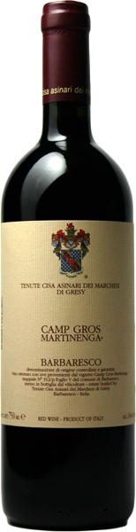 Вино Camp Gros Barbaresco DOCG, 2003
