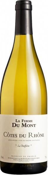 "Вино La Ferme Du Mont, ""La Truffiere"" Blanc, Cotes du Rhone AOC, 2013"