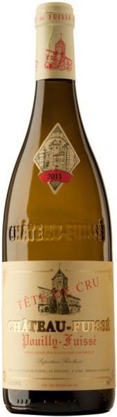 """Вино Pouilly-Fuisse AOC """"Tete de Cru"""", 2015"""