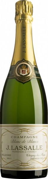 """Шампанское J. Lassalle, """"Blanc de Blancs"""" Premier Cru Chigny-Les-Roses, 2008"""