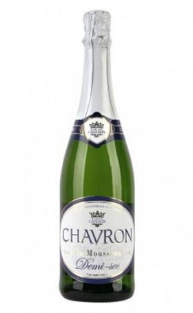Игристое вино Chavron Demi Sec 0.75л