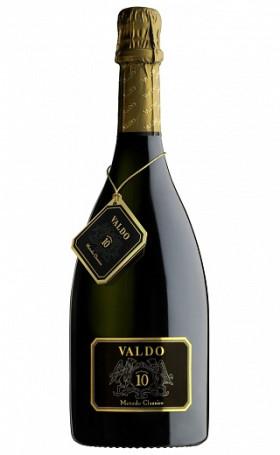 Игристое вино Valdo Numero 10 Metodo Classico Brut 0.75л