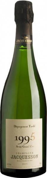 "Шампанское Jacquesson, ""Avize"" Grand Cru Brut Degorgement Tardif, 1995"