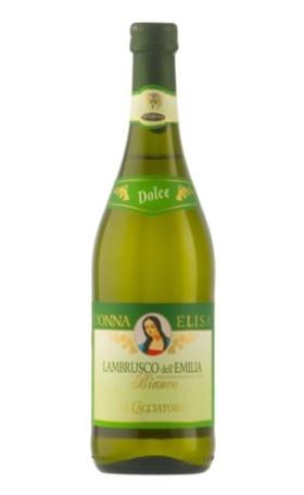 Ламбруско Donna Elisa Lambrusco dell Emilia bianco 0.75л