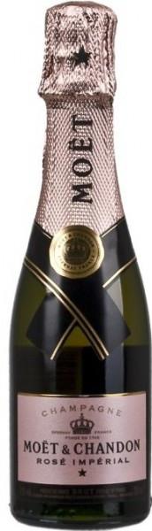 Шампанское Moet & Chandon, Brut Imperial Rose, 0.2 л