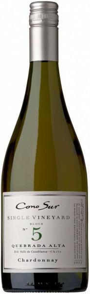 """Вино Cono Sur, """"Single Vineyard"""" Chardonnay, Casablanca Valley DO, 2013"""