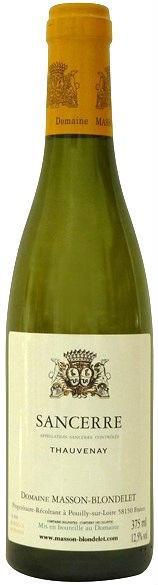 """Вино Domaine Masson-Blondelet, Sancerre Blanc """"Thauvenay"""", 2015, 375 мл"""