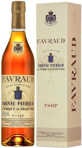 "Коньяк ""Favraud"" VSOP, gift box, 0.7 л"