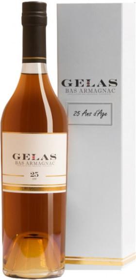 """Арманьяк Gelas, """"Bas Armagnac"""", 25 ans, gift box, 2.5 л"""