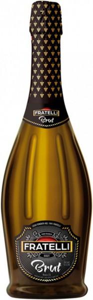 """Игристое вино """"Fratelli"""" Brut"""