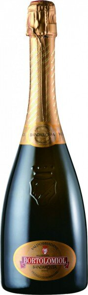 """Игристое вино Bortolomiol, """"Bandarossa"""" Extra Dry Millesimato, Valdobbiadene Prosecco Superiore DOCG"""