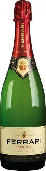 Игристое вино Ferrari Demi Sec, Trento DOC