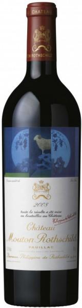 Вино Chateau Mouton Rothschild, Pauillac AOC Premier Grand Cru Classe, 2008
