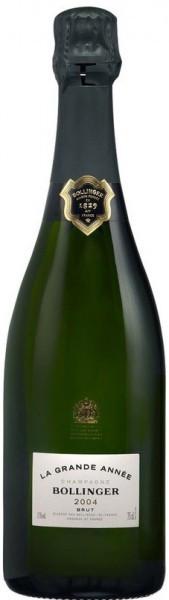 """Шампанское Bollinger, """"La Grande Annee"""" Brut AOC, 2004"""