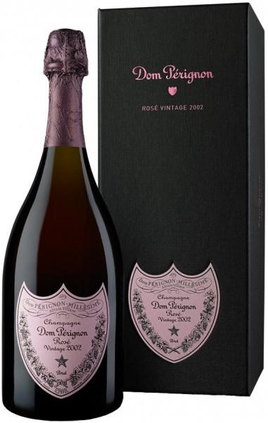 "Шампанское ""Dom Perignon"", Rose Vintage 2002 Brut, in gift box, 1.5 л"