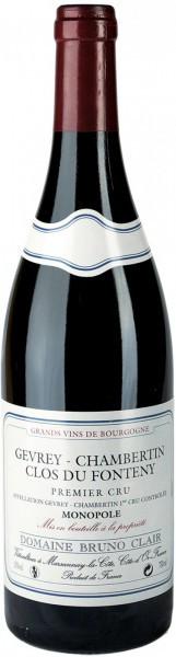 Вино Domaine Bruno Clair Gevrey-Chambertin Premier Cru Clos du Fonteny 2005