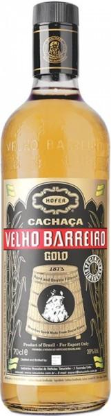 """Кашаса """"Velho Barreiro"""" Gold, 0.7 л"""