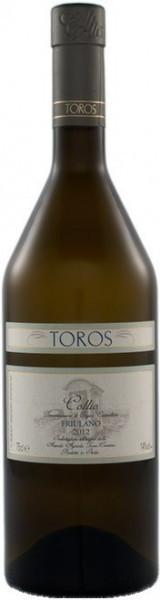 Вино Toros Franco, Friulano, Collio DOC, 2012