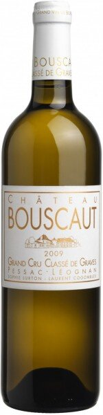 "Вино ""Chateau Bouscaut"" Blanc, Grand Cru Classe, 2009"