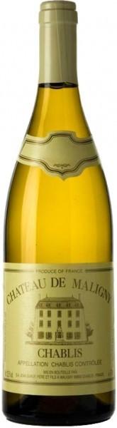Вино Chateau de Maligny, Chablis AOC, 2015, 0.375 л