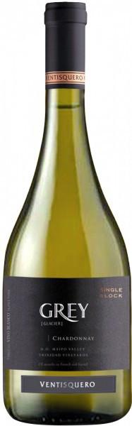 """Вино Ventisquero, """"Grey"""" Chardonnay, 2015"""