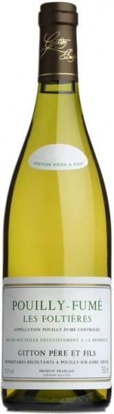 """Вино Gitton Pere & Fils, Pouilly-Fume """"Les Foltieres"""" AOC, 2014"""