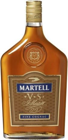 Коньяк Martell VS, flask, 0.5 л