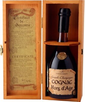 "Коньяк ""Comte Joseph"", Hors d'Age XO, wooden box, 0.7 л"