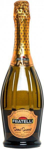 "Игристое вино ""Fratelli"" Semi-Sweet"