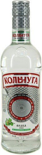 "Водка ""Kolchuga"" Na berezovih pochkah, 0.5 л"