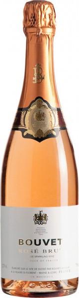 """Игристое вино Bouvet Ladubay, """"Bouvet"""" Brut Rose"""