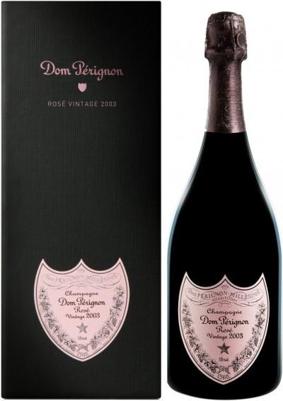 "Шампанское ""Dom Perignon"", Rose Vintage 2003 Brut, in gift box"