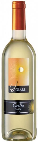 """Вино Tombacco, """"Solare"""" Grillo, Sicilia IGT, 2012"""
