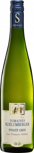 "Вино Schlumberger, Pinot Gris ""Les Princes Abbes"", 2011"
