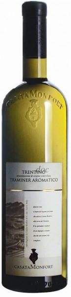 Вино Casata Monfort, Traminer Aromatico, Trentino DOC, 2012
