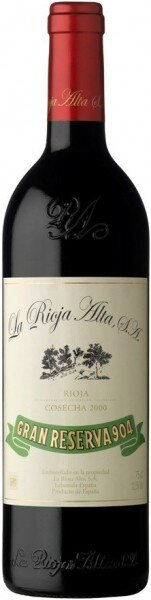 "Вино ""Gran Reserva 904"", Rioja DOC, 2000"