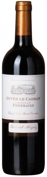 Вино Le Cadran de Fombrauge, Saint-Emilion Grand Cru, 2012