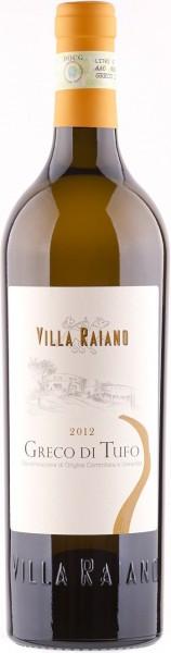 Вино Villa Raiano, Greco di Tufo DOCG, 2012
