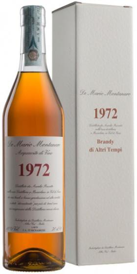 Бренди Montanaro, Brandy di Altri Tempi, 1972, gift box, 0.7 л