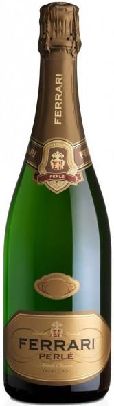 Игристое вино Ferrari Perle Brut 2002, Trento DOC