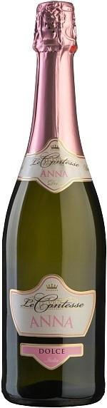 "Игристое вино Le Contesse, Dolce ""Anna"""