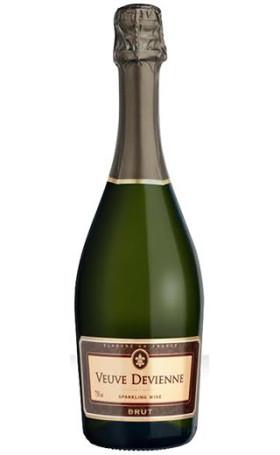 Игристое вино Veuve Devienne Brut 0.75л