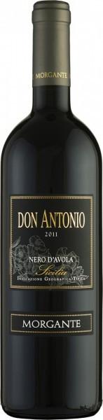 "Вино Morgante, ""Don Antonio"" Nero d'Avola, Sicilia IGT, 2011"