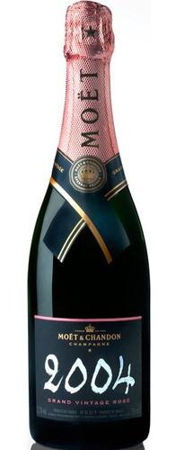 Шампанское Moet & Chandon Brut Vintage Rose 2004 0.75л