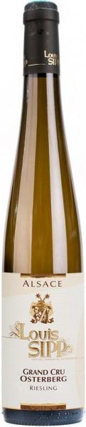 "Вино Louis Sipp, Grand Cru ""Osterberg"" Riesling, Alsace AOC, 2011"
