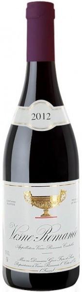 Вино Domaine Gros Frere et Soeur, Vosne-Romanee, 2012
