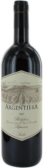 "Вино ""Argentiera"" Bolgheri Superiore DOC, 2007, 0.375 л"