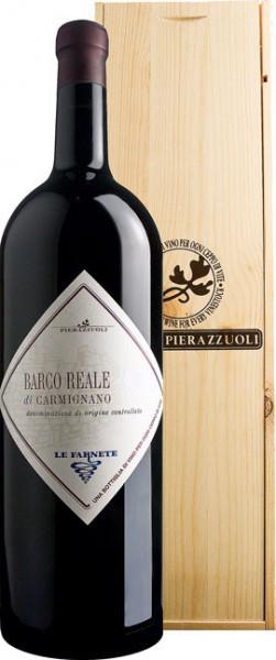 """Вино Tenuta Cantagallo, """"Barco Reale"""" di Carmignano DOC, 2011, wooden box, 5 л"""