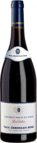 """Вино Paul Jaboulet Aine, """"Les Cedres"""" Rouge, Chateauneuf du Pape AOC, 2010"""